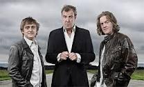 UK host Hammond, Clarkson, and May